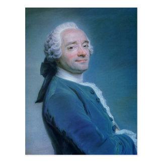 Maurice Quentin de la Tour Self-Portrait Postcard