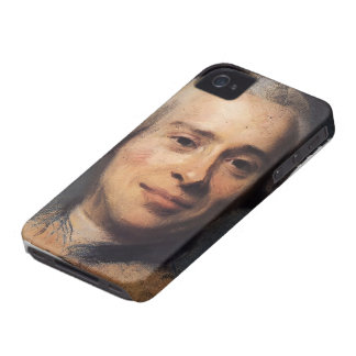Maurice Quentin -Portrait of Jean Rond d'Alembert iPhone 4 Cover