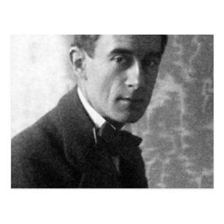 maurice ravel 1912 postcard