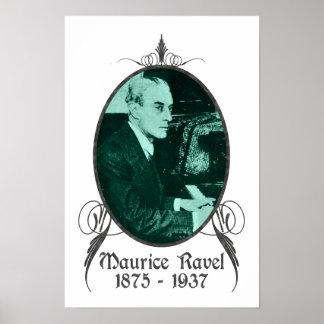 Maurice Ravel Poster