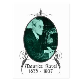 Maurice Ravel Tarjetas Postales