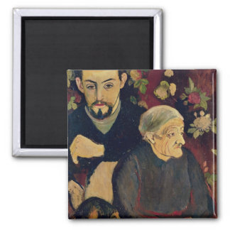 Maurice Utrillo, his Grandmother and his Dog Refrigerator Magnet