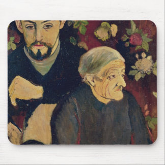 Maurice Utrillo, his Grandmother and his Dog Mouse Pad
