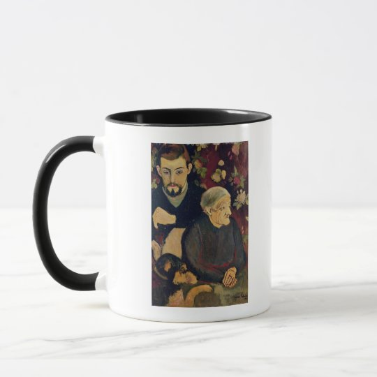Maurice Utrillo, his Grandmother and his Dog Mug