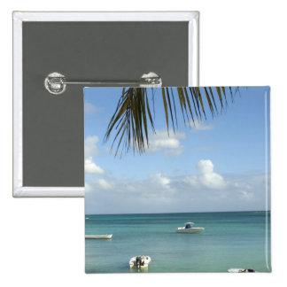 Mauricio, Baie magnífico. Barcos anclados en Pins