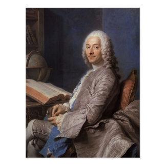 Mauricio de La Tour- Portrait de Duval de l'Epinoy Postal