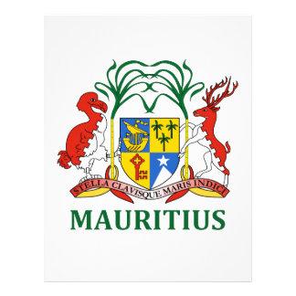 Mauricio - emblema/bandera/escudo de armas/símbolo plantillas de membrete