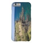 Mauricio, Mauricio occidental, belleza Vue, océano Funda Para iPhone 6 Barely There
