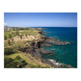 Mauricio, Mauricio occidental, belleza Vue, océano Tarjetas Postales