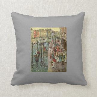 Mauricio Prendergast- el Gran Canal Venecia Cojin