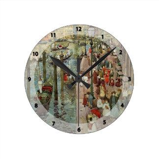 Mauricio Prendergast- el Gran Canal, Venecia Relojes