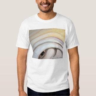 Mauricio Saravia's painting on T-shirt