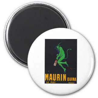 Maurin Quina Absinthe 2 Inch Round Magnet