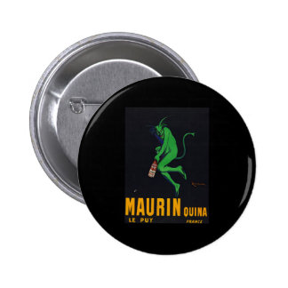 Maurin Quina Absinthe Button