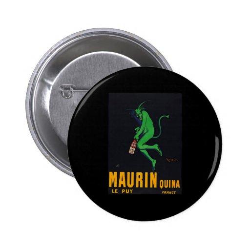 Maurin Quina Absinthe Buttons