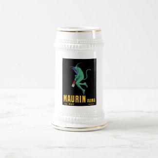 Maurin Quina - Cappiello 1906 - Absinthe Apertif Beer Stein