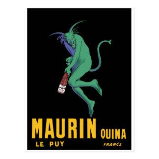 Maurin Quina - Cappiello 1906 - Absinthe Apertif Postcard