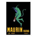 Maurin Quina - Cappiello 1906 - ajenjo Apertif Postal