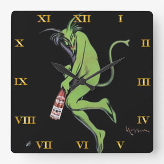 Maurin Quina Green Devil Absinthe Clock - 3
