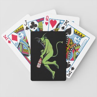 Maurin Quina Green Devil Absinthe Playing Cards