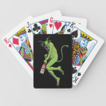 Maurin Quina Green Devil Absinthe Playing Cards Bicycle Playing Cards