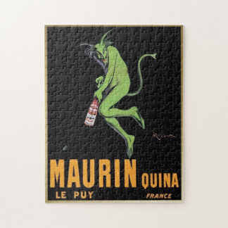Maurin Quina Green Devil Absinthe - Puzzle