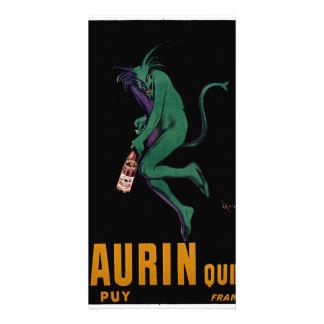 Maurin Quina Green Devil by Cappiello Card