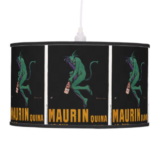 Maurin Quina Green Devil by Cappiello Ceiling Lamp