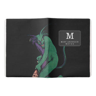 Maurin Quina Green Devil by Cappiello Extra Large Moleskine Notebook