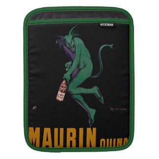 Maurin Quina Green Devil by Cappiello iPad Sleeve