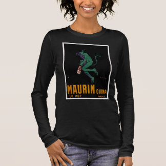 Maurin Quina Green Devil by Cappiello Long Sleeve T-Shirt