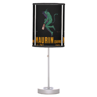 Maurin Quina Green Devil by Cappiello Table Lamp
