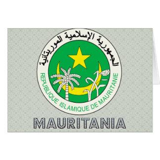 Mauritania Coat of Arms Greeting Card