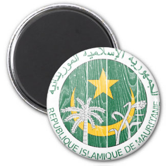 Mauritania Coat Of Arms Magnet