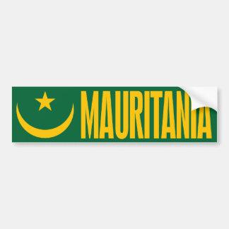 Mauritania Flag Bumper Sticker