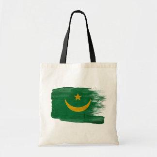 Mauritania Flag Canvas Bags