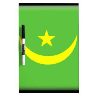 Mauritania Flag Dry Erase Whiteboard