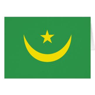 Mauritania Flag Greeting Card