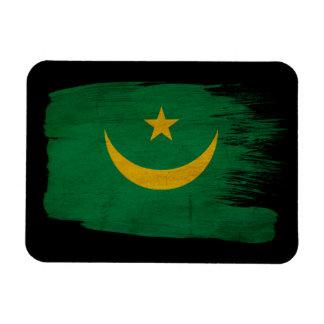 Mauritania Flag Magnet