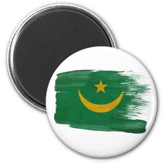 Mauritania Flag Magnets