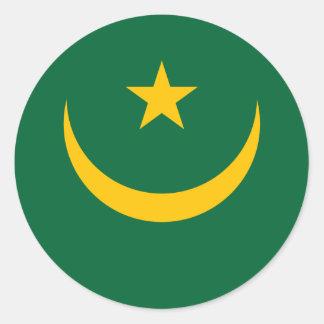 Mauritania Flag Sticker