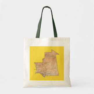 Mauritania Map Bag