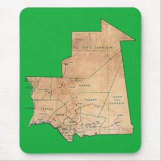 Mauritania Map Mousepad