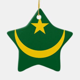 Mauritania Christmas Ornament