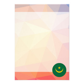 "Mauritania Souvenir 5"" X 7"" Invitation Card"