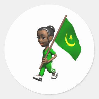 Mauritania Sticker