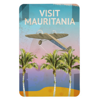 Mauritania Vintage Travel poster Magnet