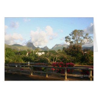 Mauritian Landscapes Card