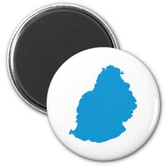 Mauritius 2 Inch Round Magnet