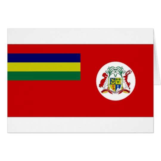 Mauritius Civil Ensign Card